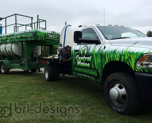 bridesigns truck wrap