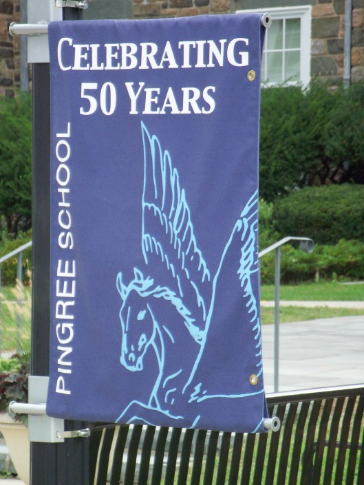 Pingree School banner