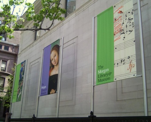 The Morgan Library & Museum banner